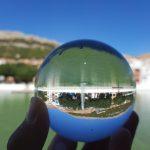 bola de fotografia de viaje