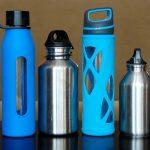 Botellas de agua de viajes