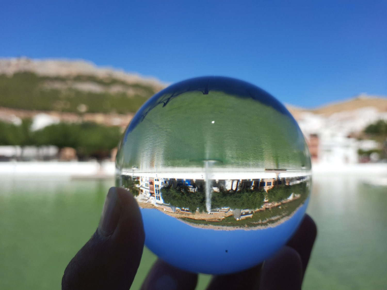 bola de cristal fotografia